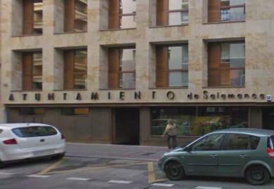 La sede del Ayuntamiento de Salamanca en la calle Íscar Peyra.