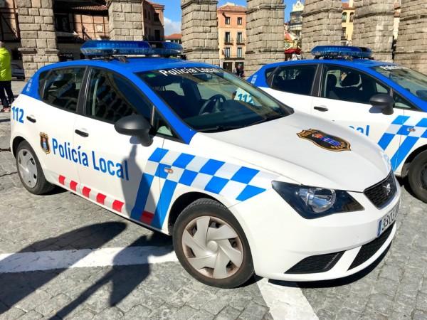 Policía Local, Segovia. Foto. Policía Local de Segovia.