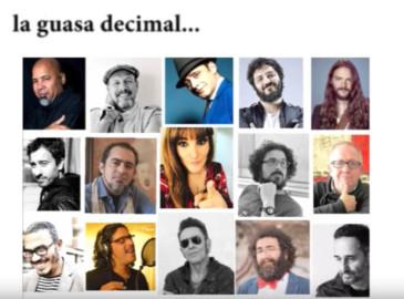 Quince poetas y cantantes recitan una décima al coronavirus.