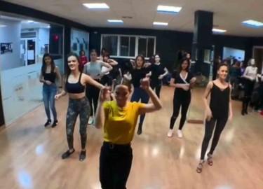 Raquel de Castro ofreció un inensivo smooth en el centro de danza y fitness Breakology Studio Salamanca.