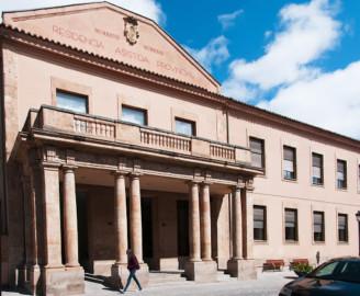 Residencia asistida de la Diputación de Salamanca.