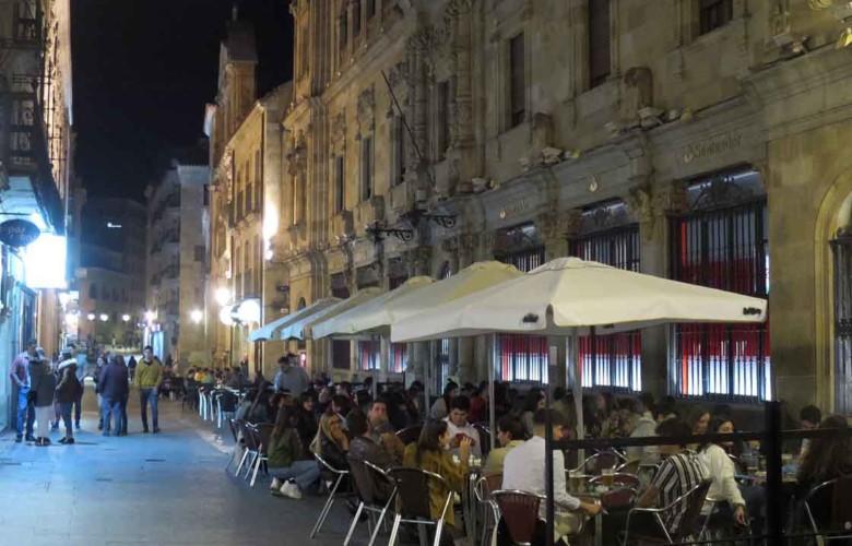 terraza calle zamora