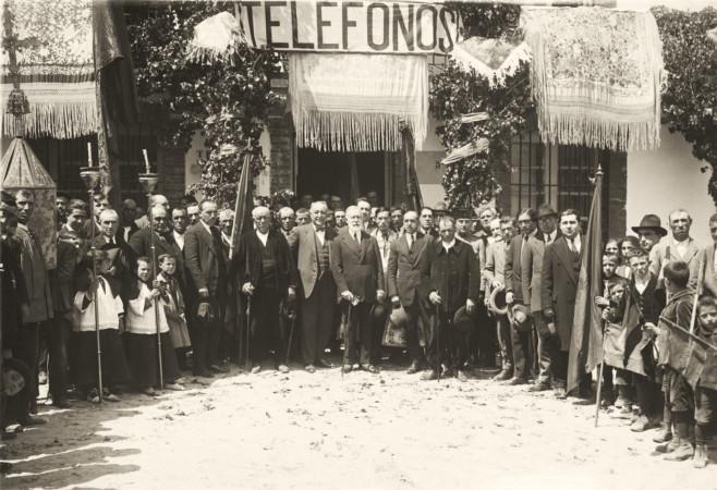 ICAL. Imagen de archivo de la historia de Telefónica en Castilla y León