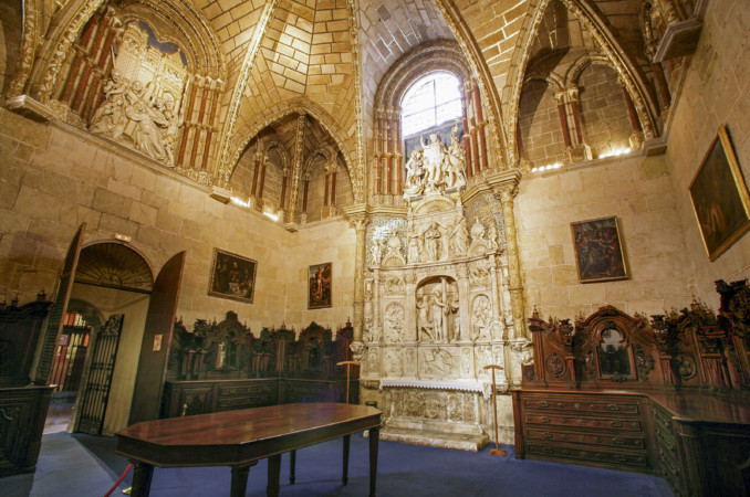Ricardo Muñoz / ICAL. Sacristía de la catedral del Salvador de Ávila, donde se reunieron los Comuneros