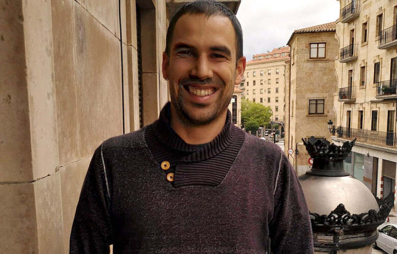 ICAL. El trabajador salmantino de escuelas de español Javier González Barahona