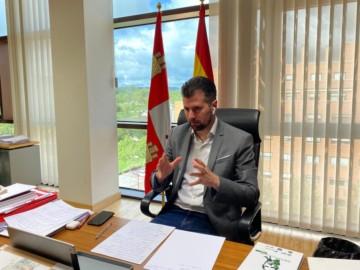 Psoecyl / ICAL . Luis Tudanca, líder del Grupo Socialista en Castilla y León.