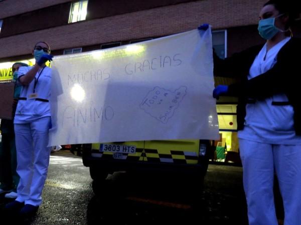Personal sanitario del hospital clínico de Salamanca.