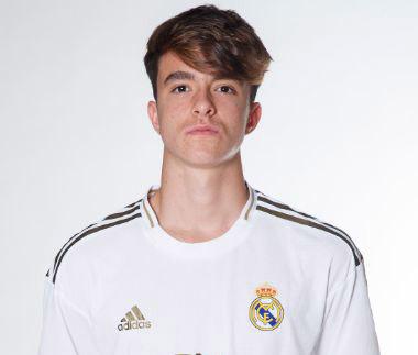 Bruno Iglesias, jugador salmantino del Real Madrid.