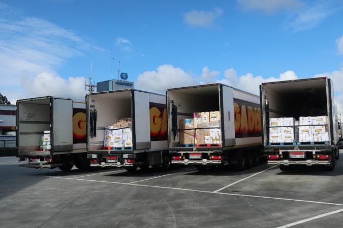 Gadis reparte 30.000 kilos de productos a 11 Bancos de Alimentos