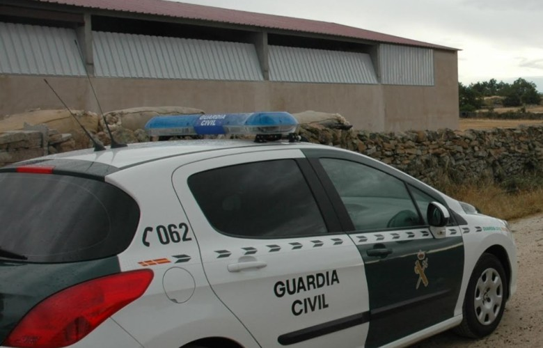 guardia civil coche archivo