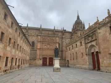 El Edificio Histórico de la Universidad de Salamanca.