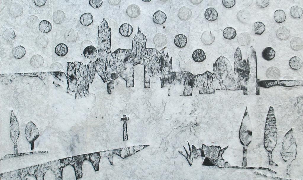 Un collage de Andrés Alén