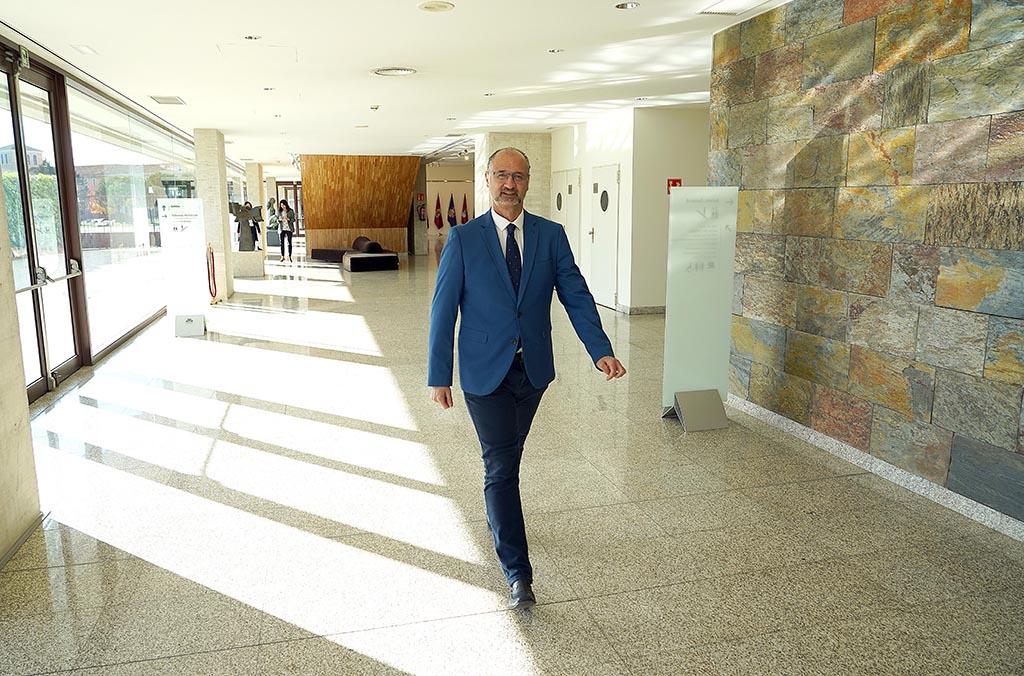 Luis Fuentes, presidente de las Cortes de Castilla y León. Foto. ICAL (1)