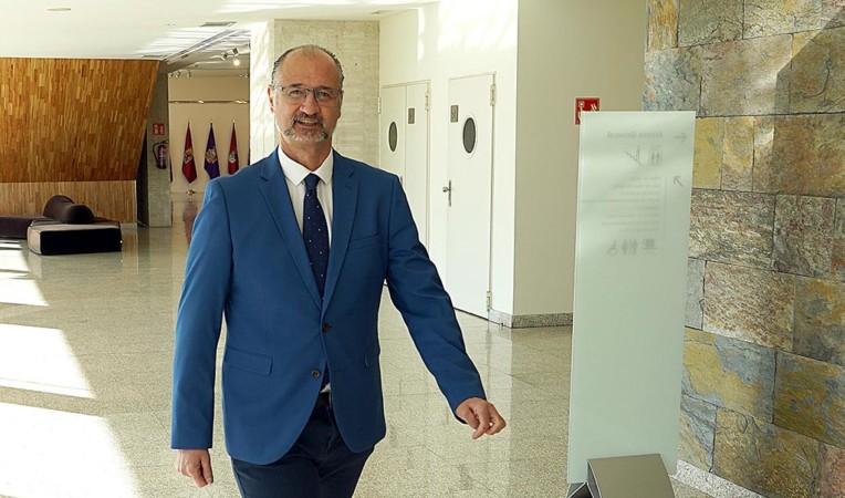 Luis Fuentes, presidente de las Cortes de Castilla y León. Foto. ICAL (4)