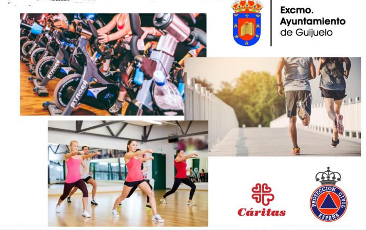Maratón deportivo solidario de Guijuelo.