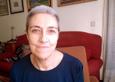 Marisa Beltrán, salmantina que ha superado el coronavirus.