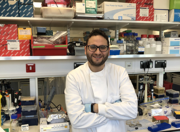 Maruan Hijazi Vega en el Barts Cancer Institute de la Queen Mary University of London.