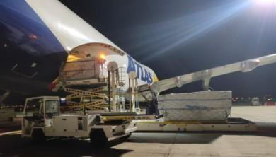 material sanitario avion junta 2