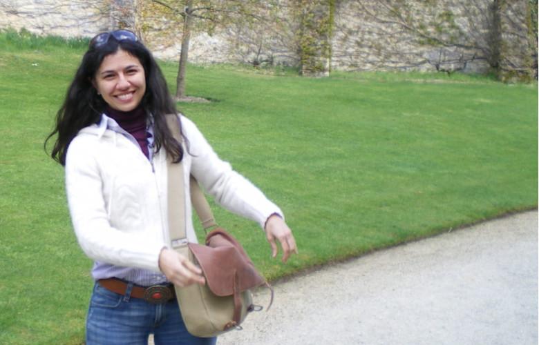Patricia Méndez Lorenzo estudió Físicas en la Universidad de Salamanca y ahora trabaja en el CERN, en Ginebra.