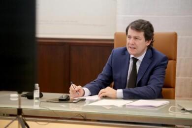 IICAL. El presidente de la Junta de Castilla y León, Alfonso Fernández Mañueco, participa en la reunión con el presidente del Gobierno de España.