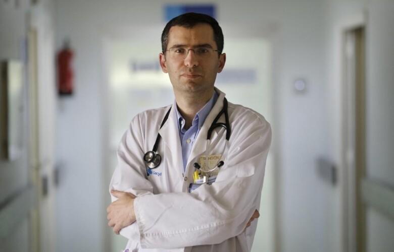 Miguel Marcos, investigador del Ibsal y médico internista del hospital de Salamanca