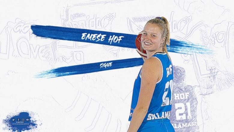 Emese Hof, jugadora del Perfumerías Avenida.