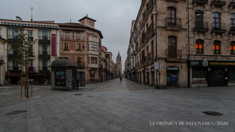 La calle La Rúa, Salamanca.