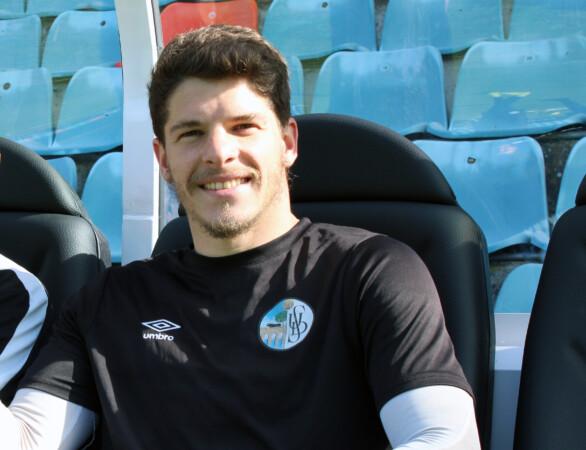 Antonio Amaro, capitán del Salamanca CF.