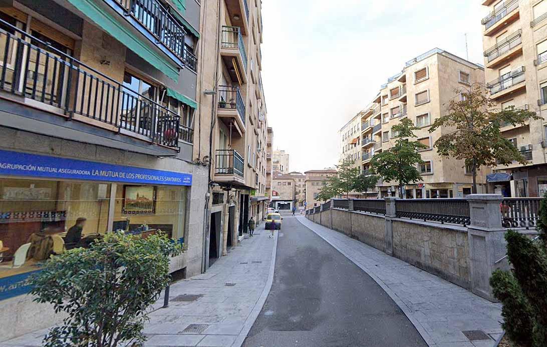 Calle Bermejeros, Salamanca.