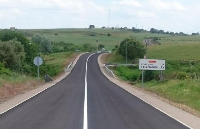 carretera cl517 vitigudino lumbrales 2