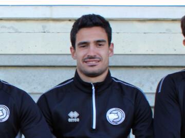 David Gallego, jugador de Unionistas CF,.