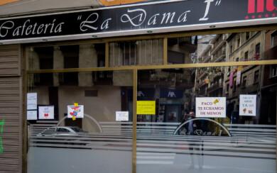 Los mensajes que han dejado los clientes en este establecimiento de la calle Valencia.