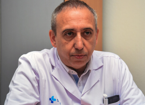 Ignacio Dávila, jefe del servicio de alergología del hospital de Salamanca,