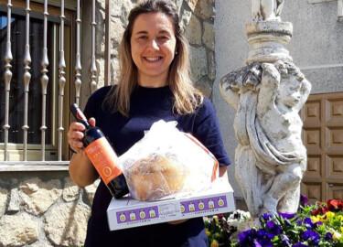 Vino, bollo y empanada para celebrar a San Miguel Arcángel en Aldearrodrigo.