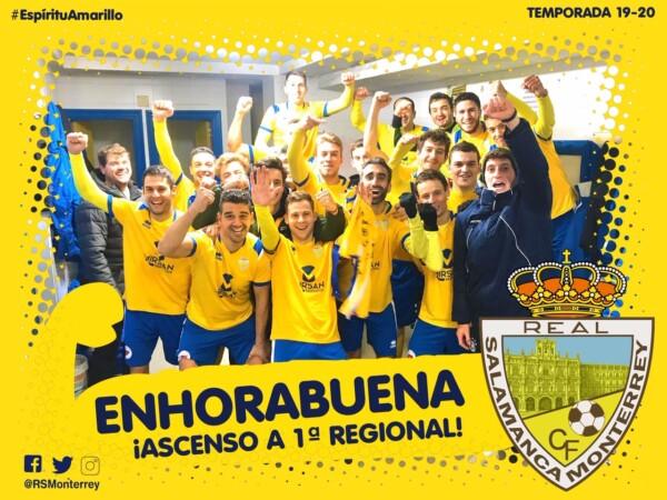 El Real Salamanca Monterrey y el Peñaranda suben de categoría.