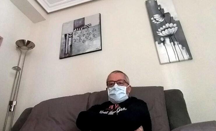 manuel hernandez coronavirus recuperado casa