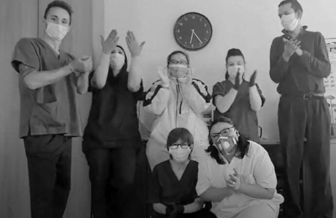 Miembros de la Asociación de Esclerosis Múltiple de Salamanca.