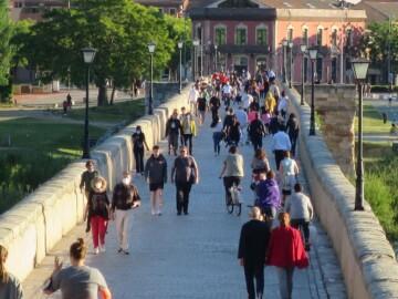 paseo confinamiento estado alarma puente romano (10)