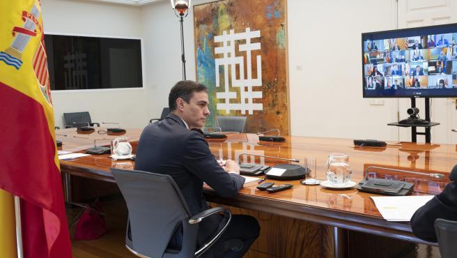 Pedro Sánchez, encuentro con los presidentes autonómicos.