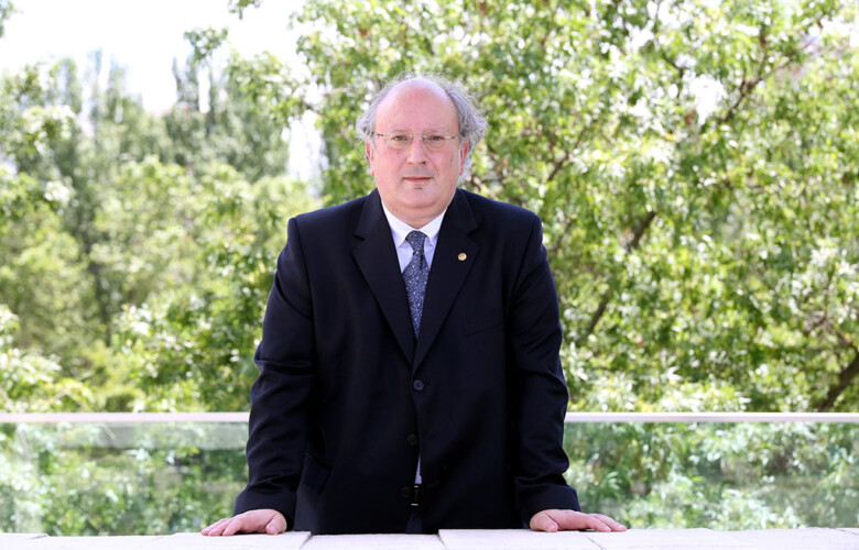 Rubén Cacho ICAL. El presidente del Consejo Económico y Social,CES, Enrique Cabero (1)
