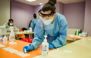test rapidos covid coronavirus centro salud ical