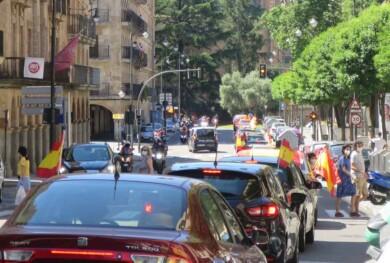vox manifestacion contra gobierno coches coronavirus (12)
