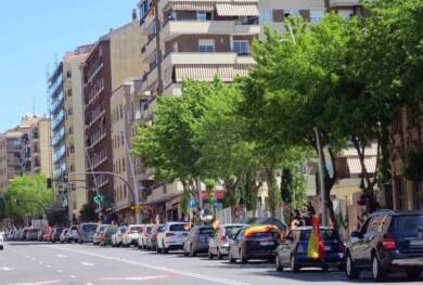 vox manifestacion contra gobierno coches coronavirus (8)