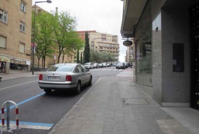 zona azul aparcamiento ora