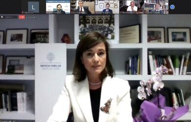 Rocío Hervella, presidenta de la Empresa Familiar de Castilla y León