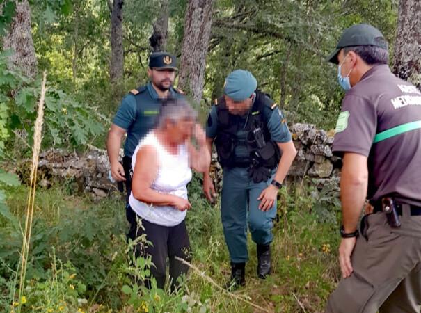 ICAL. Encuentran a una mujer de 70 años, desorientada y con signos de deshidratación, desaparecida en Alcorcillo (Zamora)