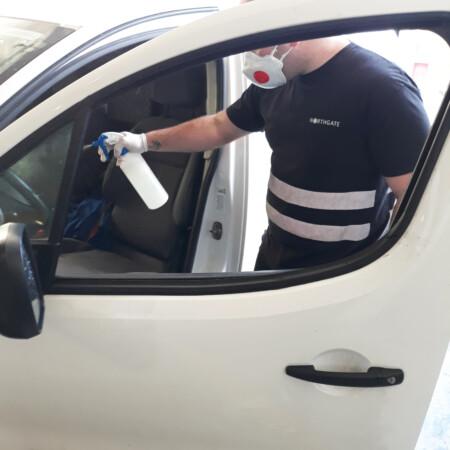 consejos básicos para desinfectar tu vehículo de Covid-19