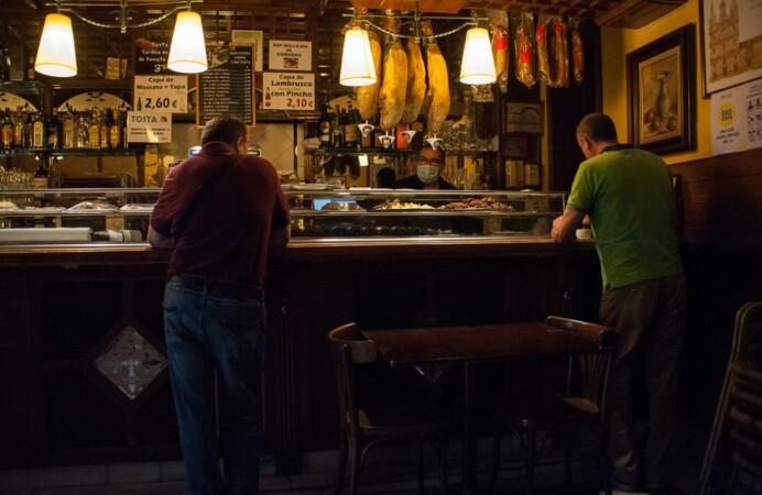 bares abiertos barra coronavirus desescalada
