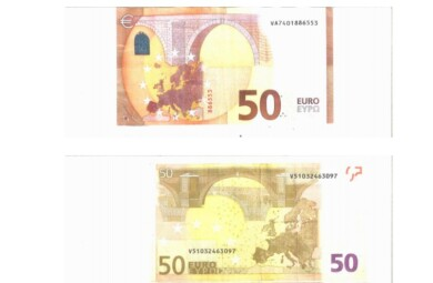 dinero billetes falsos 50 euros