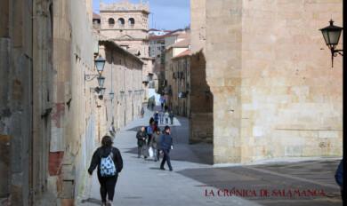 La calle Compañía de Salamanca.